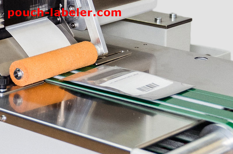 pouch labeler